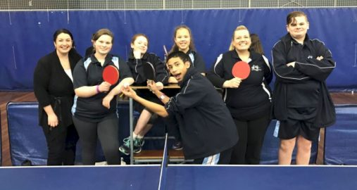 7 Deaf Sports Day Table Tennis